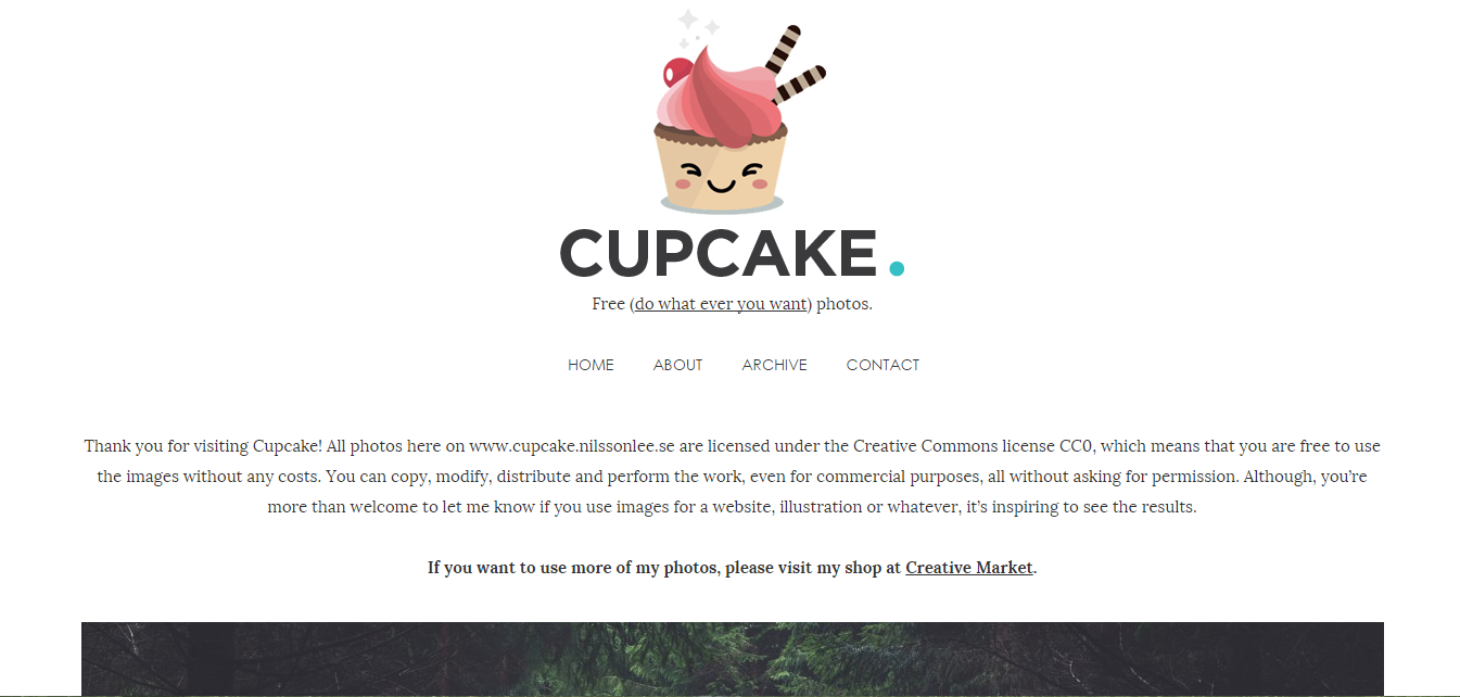 Cupcake Free Stock Images by Joans Wimmerstrom