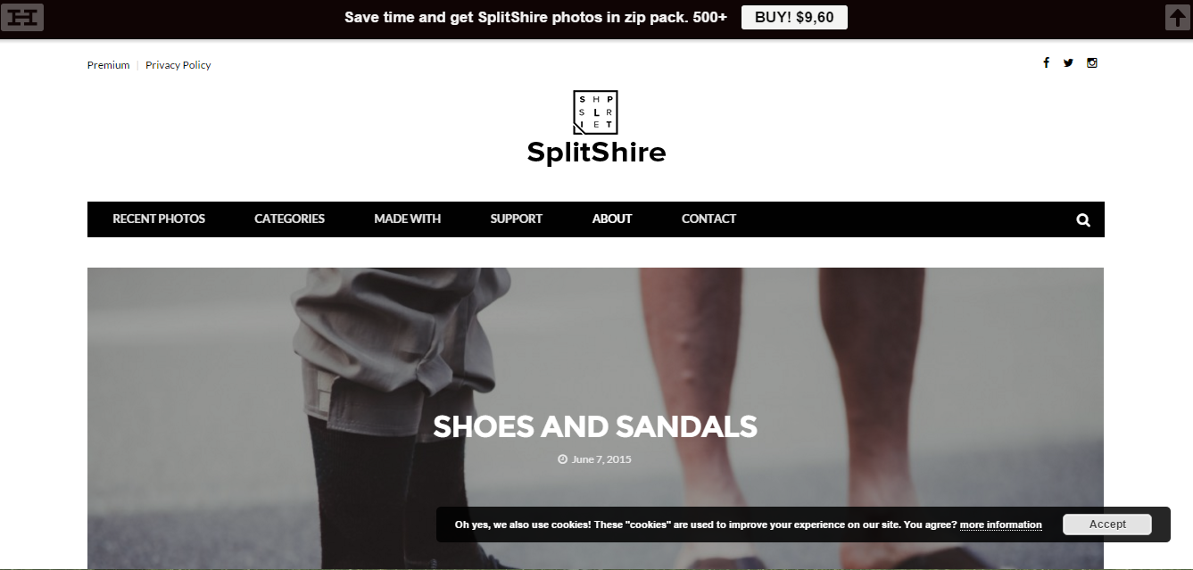SplitShire 10 Years of Collected Free Photos