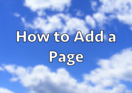 How to Add a Page in WordPress