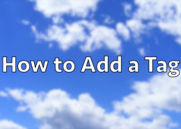 How to Add a Tag in WordPress