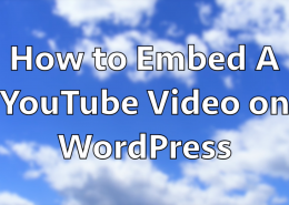 How to Embed a Video on WordPress