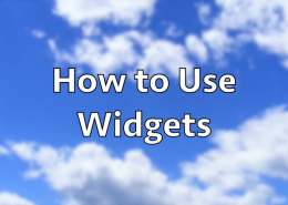 How to Use Widgets in WordPress