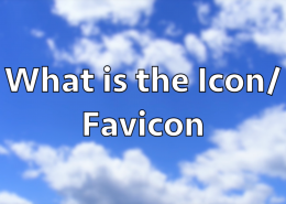 What is the Icon or Favicon?