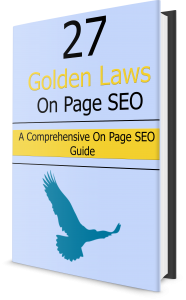 27 On Page SEO Guide